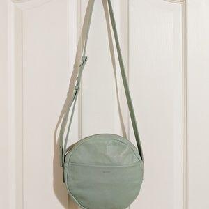 Baggu circle purse Seaglass